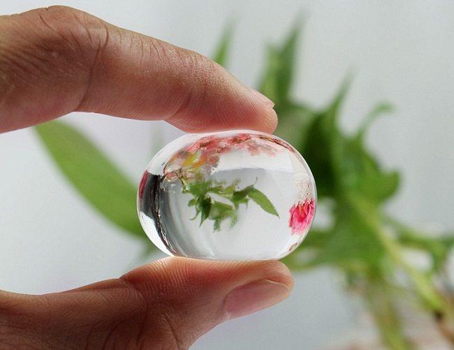 Гидрогелевые шарики для орхидеи