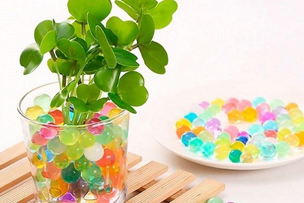 Разноцветные гидрогелевые шарики