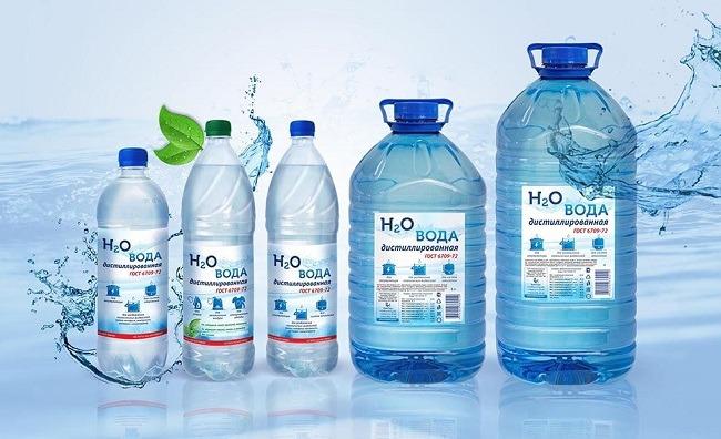 Дисцилированная вода