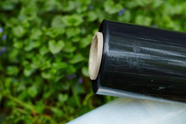 Черная пленка для растений